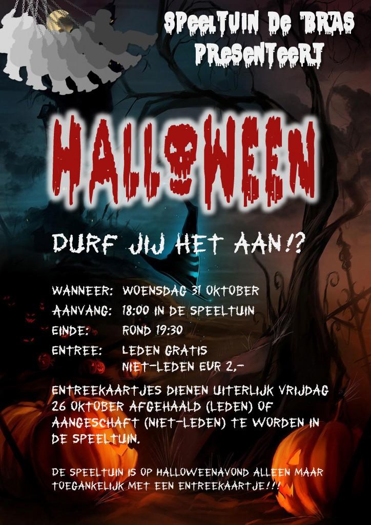 Raadsels Halloween.2018 10 31 Flyer Halloween Speeltuin De Bras